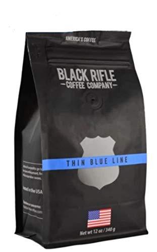 Black Rifle Coffee Company Whole Bean Coffee 12oz Bag (Thin Blue Line Whole Bean)
