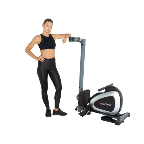 Fitness Reality 1000 Plus Bluetooth Magnetic Rower Rowing Machine with Extended Optional...