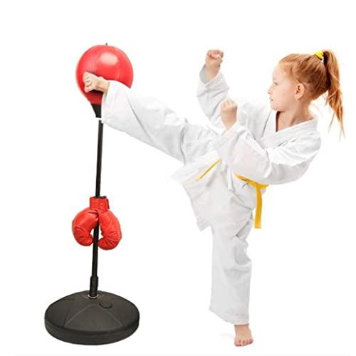 Bola de Velocidad de Boxeo niños Adultos de pie Saco de Boxeo de Boxeo Vaso de Bola de Velocidad de Boxeo Velocidad de reacción de Entrenamiento Saco de Boxeo de Boxeo