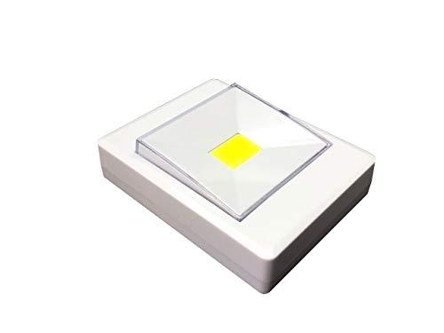 Luz Nocturna LED Luz de Noche Luz de Armario interruptor Lámpara de Cocina Lámpara Nocturna para Habitación de Bebé, Dormitorio,Escalera, Sótano, baño, Garaje, luz para mascota.