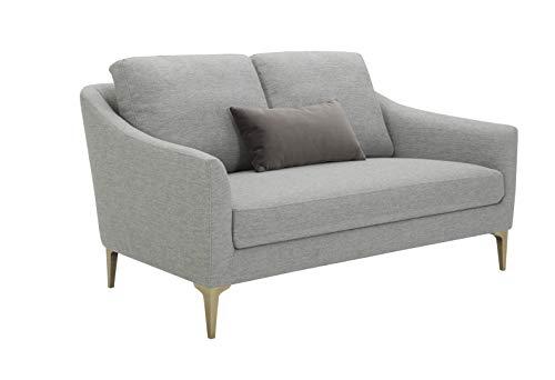 Rivet Amazon Brand Rivet Alonzo Contemporary Upholstered Loveseat Sofa, 64