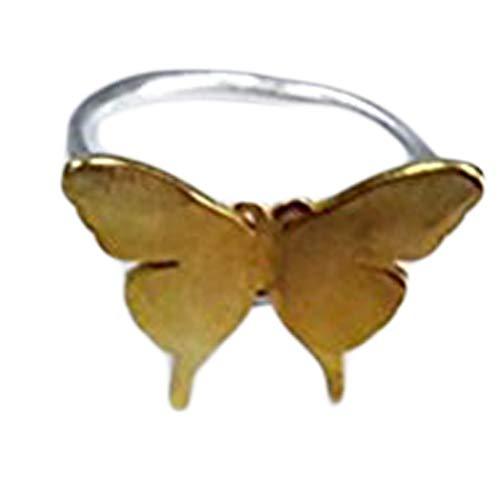 Anillo de plata de ley con diseño de mariposa de One Life