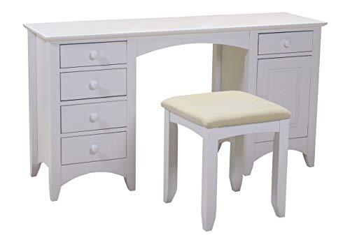 Design Vicenza Ciampino - Tavolo da toeletta bianco
