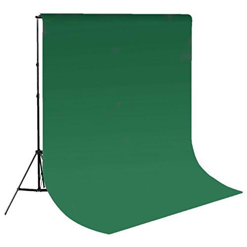 Epower Studio 6 x 9FT / 1,8 x 2,8 M Fotostudio 100{24045c51c93890af76f6cd85a09e699a680ace47b82782ca2e367be53d71c3ff} reines Muslin Faltbare Hintergrund-Hintergrund für Fotografie, Video und Fernsehen