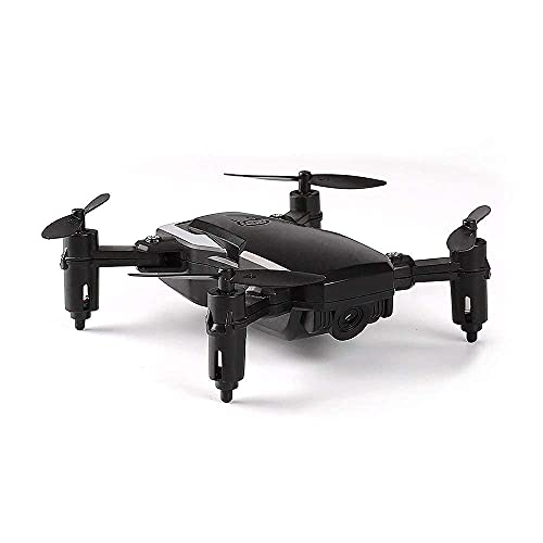 DCLINA Mini Drone Fotografia Aerea Aereo A 4 Assi Telecomando Aereo Pieghevole Giocattolo Ad Altezza Fissa per Bambini Adulti Ragazzi Ragazze Compleanno