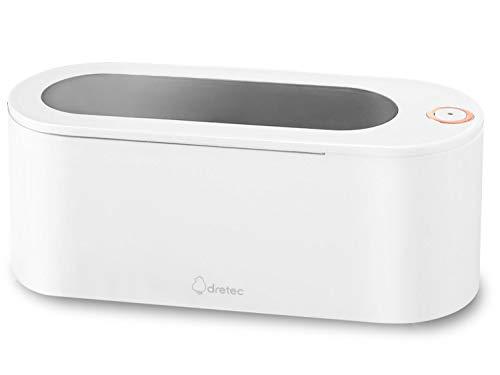 dretec(ドリテック) 超音波洗浄機 コード取り外し可能 250ml 洗浄ホルダ付 メガネ 時計 貴金属 入れ歯 花粉対策