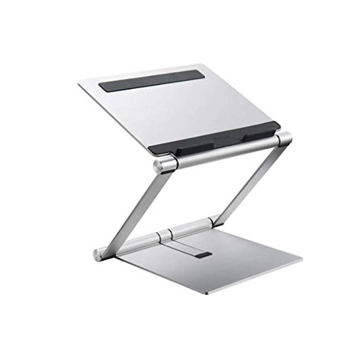 Notebook staan ​​Portable Verstelbare Aluminium Laptop Stand Desktop Storage Rack Folding Lift Base for computers onder de 17 inch Monitor Stand Notebook stand