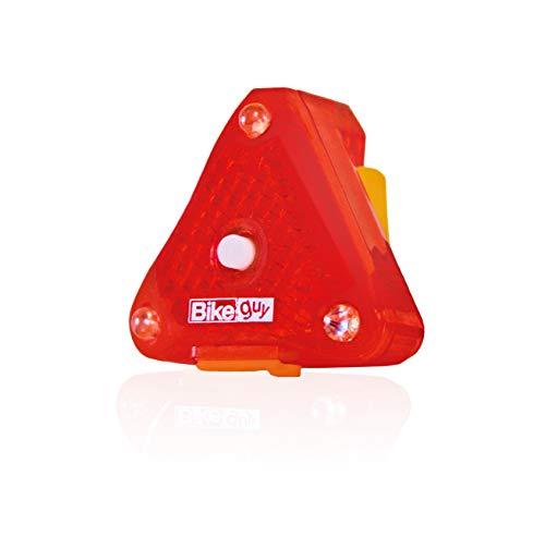 Bikeguy トライスター充電式 LEDリアライト 防水 強力発光