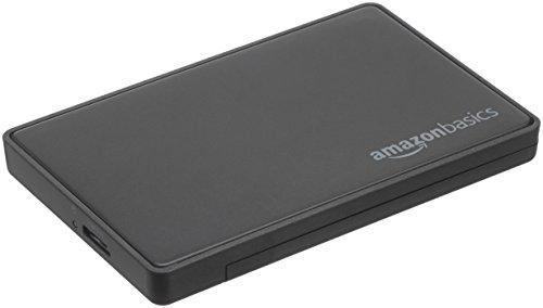 Amazon Basics - Alloggiamento per hard disk SATA da 2,5 pollici (6,35 cm) - USB 3.0