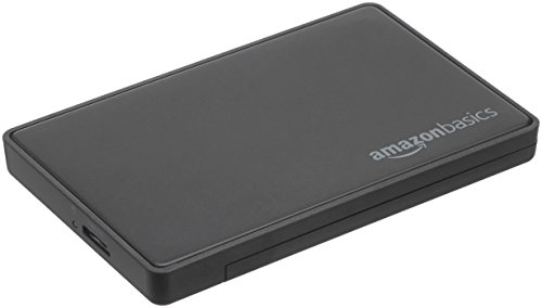 AmazonBasics 2.5-inches SATA HDD or SSD Hard Drive Enclosure - USB 3.0