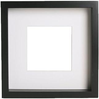 Ikea Marco de Fotos, Madera, Negro, 23x23x4,5cm