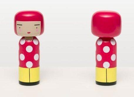 草間彌生 こけし DOT. Japanese Dolls Lucie kaas (ルーシーコース) ANDY WARHOL YAYOI KUSAMA