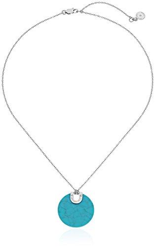 Michael Kors - Collar con colgante de disco de acetato