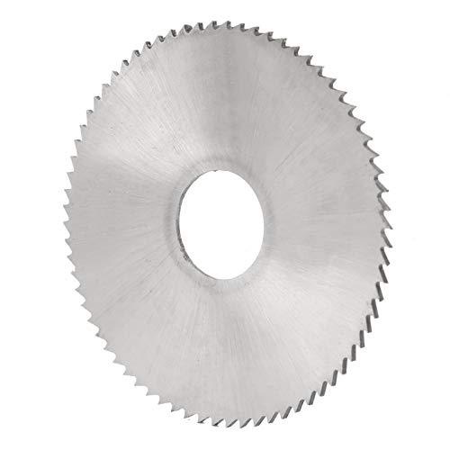 Corte De Disco De Hoja De Sierra Circular, Herramienta De Corte De Acero De Alta Velocidad Hardware 60x1-2, 72 Dientes