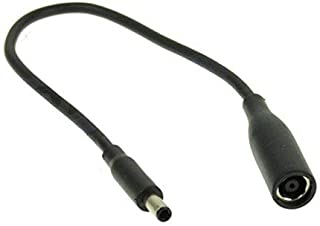Dell 7.4mm to 4.5mm DC Power Dongle Cable P/N: D5G6M, 57J49, 331-9319 for Dell M3800 XPS 12 13 15 5930 18 1810 1820 Inspiron 11 13 14 15 17