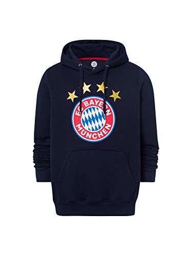 FC Bayern München Hoodie Logo Navy, M