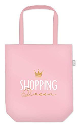 Grafik Werkstatt Einkaufstasche mit lustigem Spruch|Shopping-Bag faltbar | leichte Tasche | Shopping Queen