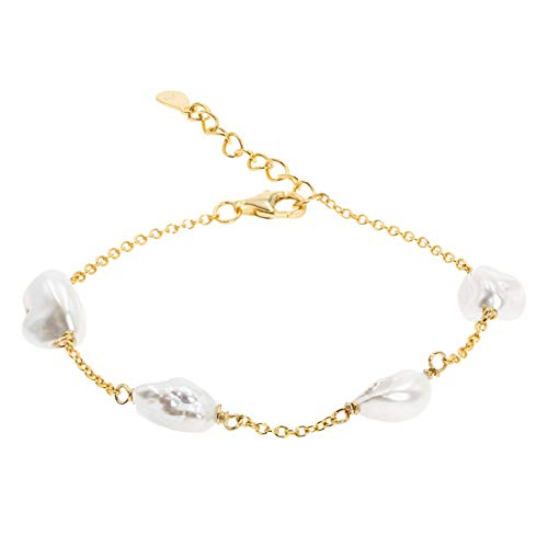 Secret & You Pulsera Mujer Cuatro Perlas Cultivadas