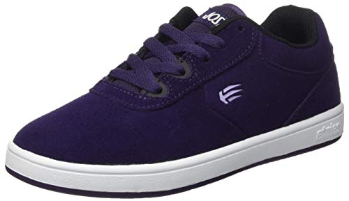 Etnies boys Kids Joslin Skate Shoe, Purple, 2 Big Kid US