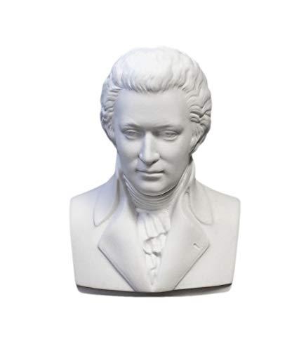 Kämmer Porzellanfigur Büste Wolfgang Amadeus Mozart