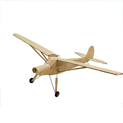 Aereo RC, Scala RC Balsawood Aeroplano Taglio Laser Mini, Fieseler Fi 156 Storch 777 Mm Kit Balsa, Costruzione Fai da Te Modello in Legno, Modello RC Aereo(Size:R0204)