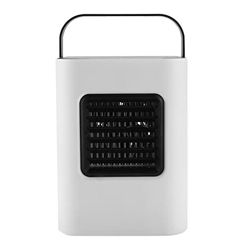 Aiglen Aire Acondicionado portátil USB - Personal Pequeño Pequeño Aire Cooler Humidificador Purificador de Aire para Oficina en casa al Aire Libre (Color : White, Size : 17cm*3cm)