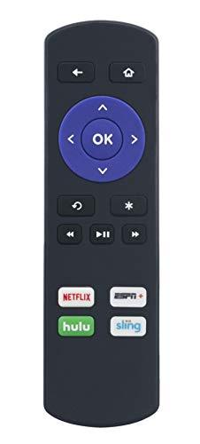 VINABTY Replaced IR Remote fit for Roku Express 3700 3900 3930 Express+ 3710 3910 3931 Premiere 3920 4620 Premiere+ 4630 Ultra 4640 4660 4662 4670 1SE 2710 2 4210 2 XD 3050 2 XS 3100 3 4200 4 4400