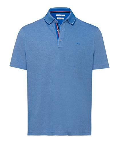 BRAX Herren Style Petter Easy Care Piqué Poloshirt, Blau (Imperial 26), Medium (Herstellergröße:M)