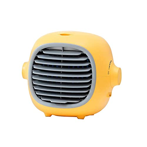 DFJU Condicionadores de ar portáteis, refrigerador de ar USB, purificador de umidificador, Ventilador de resfriamento de Mesa adequado para escritório doméstico ao ar Livre