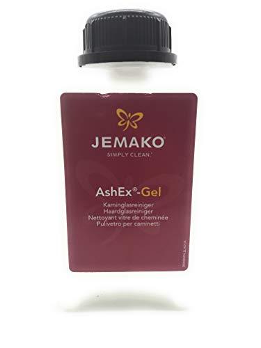 Jemako AshEx Gel, Kaminglasreiniger, 2 Liter, Kamin, Ofen, Reiniger, DiWa Wäschenetz