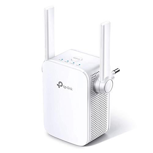 TP-Link RE305 - Repetidor WiFi AC1200, Doble Banda 5 GHz y 2.4 Ghz, Amplificador y Extensor, Modo AP, WPS Botón, Puerto Ethernet, Fácil configuración