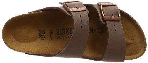 Birkenstock Arizona Birko-Flo Mocca Sandals – 44 Schmal