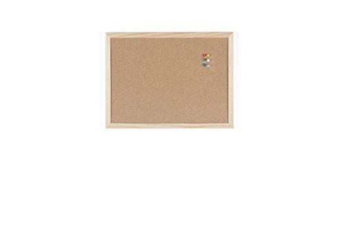 Bi-Office Korktafel / Pinnwand mit Holzrahmen- 5 Größen wählbar - 40 x30 cm