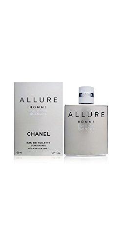Chanel Allure Homme Edition Blanche Eau De Toilette Spray For Men 100Ml/3.4Oz