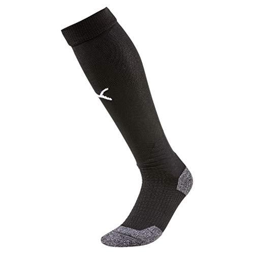 PUMA Herren Team LIGA Socks stutzen, Black White, 39-42 (Herstellergröße:3)
