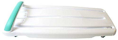 Helping Hand Kingfisher Badewannenbrett mit Griff, Kunststoff, Weiß Verstellbar für 66-71,1 cm breite Badewannen. 200 kg. -