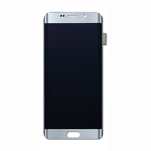 LCD Display Digitizer Touch Screen Assembly Replacement for Samsung Galaxy S7 Edge G935A G935V G935P G935T G935F (Silver)
