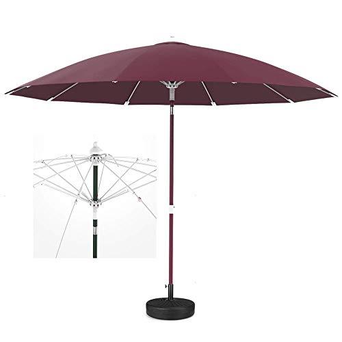 SLRMKK Garten Sonnenschirm Regenschirm, Sonnenschirm, Regenschirm Parasol YGR Outdoor Garten Villa Balkon Terrasse Sonnenschirm Sonnenmarkise Regenschirm Rund Verstreut