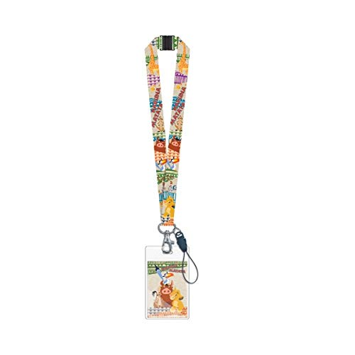 Disney Lion King Schlüsselband, Standard, mehrfarbig