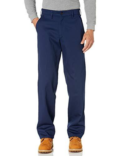 Red Kap Herren Arbeitshose, knitterfrei, Baumwolle, Herren, Men's Wrinkle-Resistant Cotton Work Pant, Navy, 28W x 30L