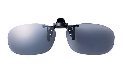 SWANS(スワンズ) 日本製 偏光 サングラス メガネにつける クリップオン 跳ね上げタイプ SCP-22_SMK SMK 偏光スモーク