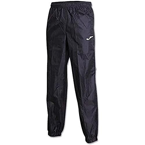 Joma Pantalon Largo Impermeable Leeds Negro, Hombres, Negro-100, M