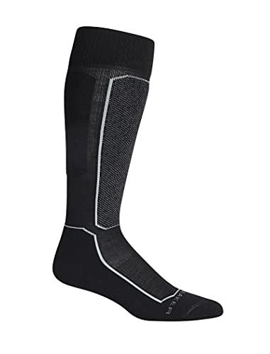 Icebreaker Merino - Calcetines de esquí para Mujer, Wmns Ski+ Light OTC, Mujer, Color Negro, tamaño Medium