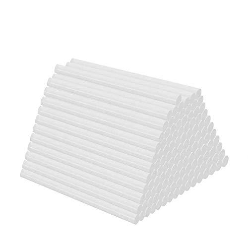 100 Stück Heißklebesticks, DIY Heißklebestifte Heißklebepatronen Heißklebesticks Alle Temperatur Clear Heißklebestifte für Mini Klebepistole 7x100 mm