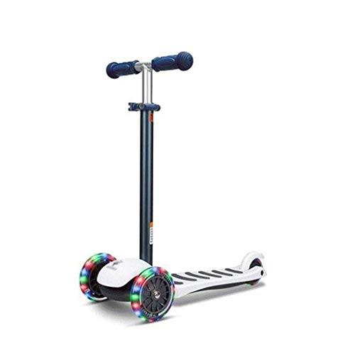 SJYDQ Vespa -Original de Ruedas, de Lean-a-Steer, Swiss-Diseñado Micro Scooter for niños preescolares