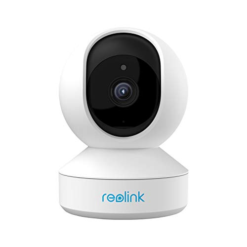 Wireless Security Camera, Reolink E1 3MP HD Plug-in Indoor WiFi Camera for Home Security/Baby Monitor/ Pets, Encrypted Free Cloud Storage, Pan Tilt, Night Vision, Works with Alexa/Google Assistant