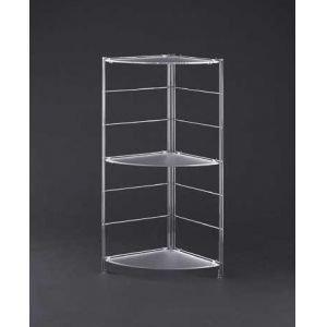 Organize It All 62563W Corner Shelf, 16 x 40.25 x 3.25