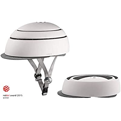 Closca Casco Helmet_ Casco Plegable de Bicicleta/Casco Plegable, accesible, Ligero y Casual. Casco de Patinete Hombre/Casco de Patinete Mujer.