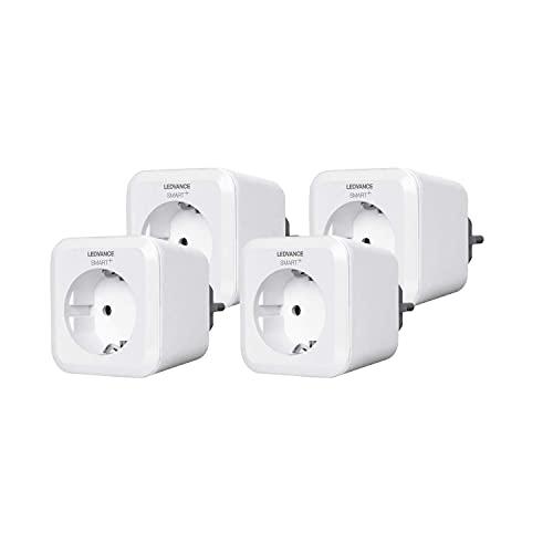 LEDVANCE 4058075212855 Prise de courant Smart Home, Pour l'intérieur, Pack multiple