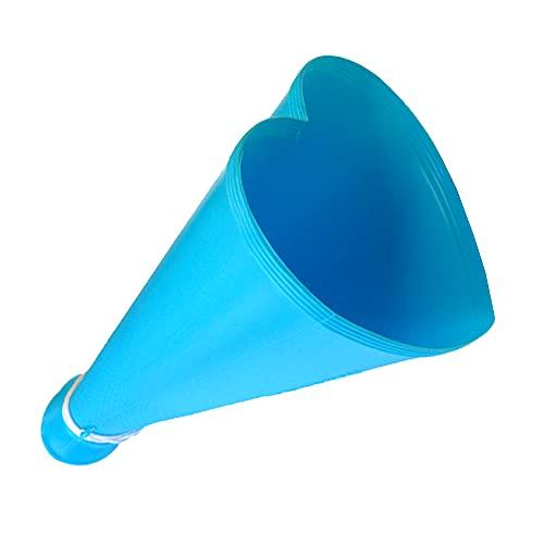 プロモ ハートメガホン 全3色 26cm 紐付き 日本製 青